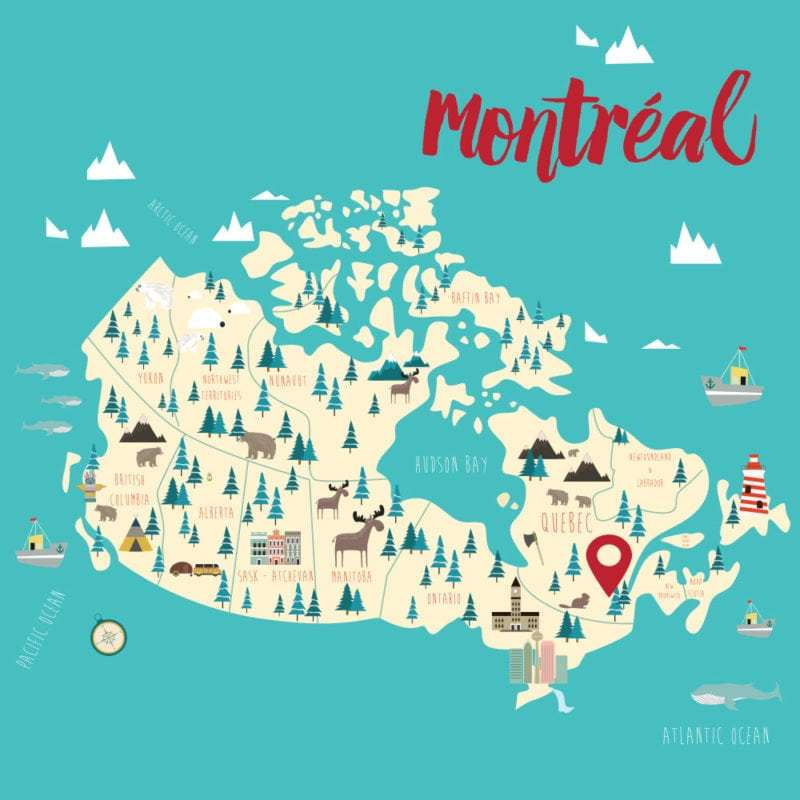 Relocate Montreal Map