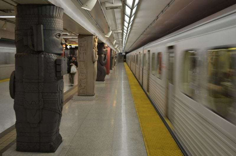 Art in Toronto's subway