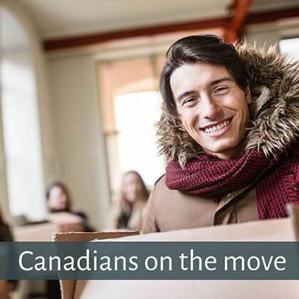 Canadians relocating in Canada