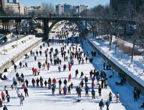 Winter activities in Canada