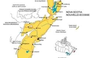 Halifax map