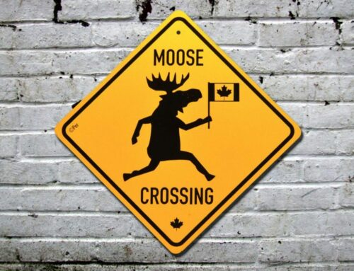 Funny road signs in Québec