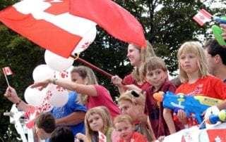 Canadians celebrate public holidays