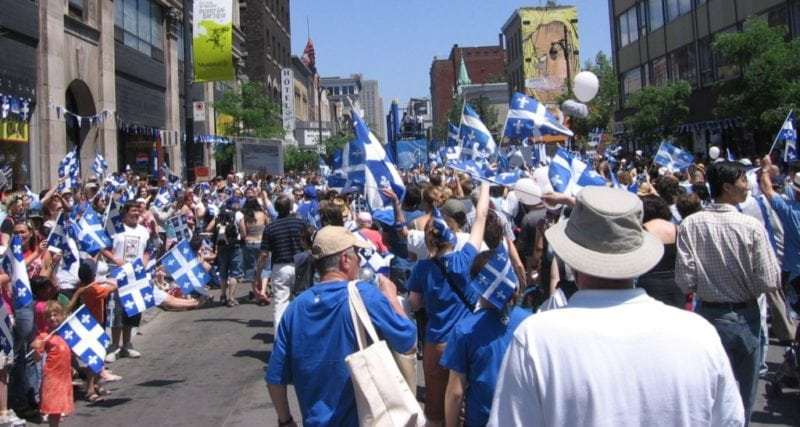 Saint-Jean Baptiste Day parade