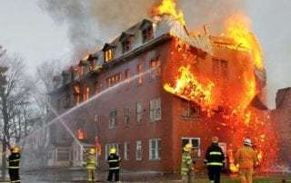 Canadian home insurance fire