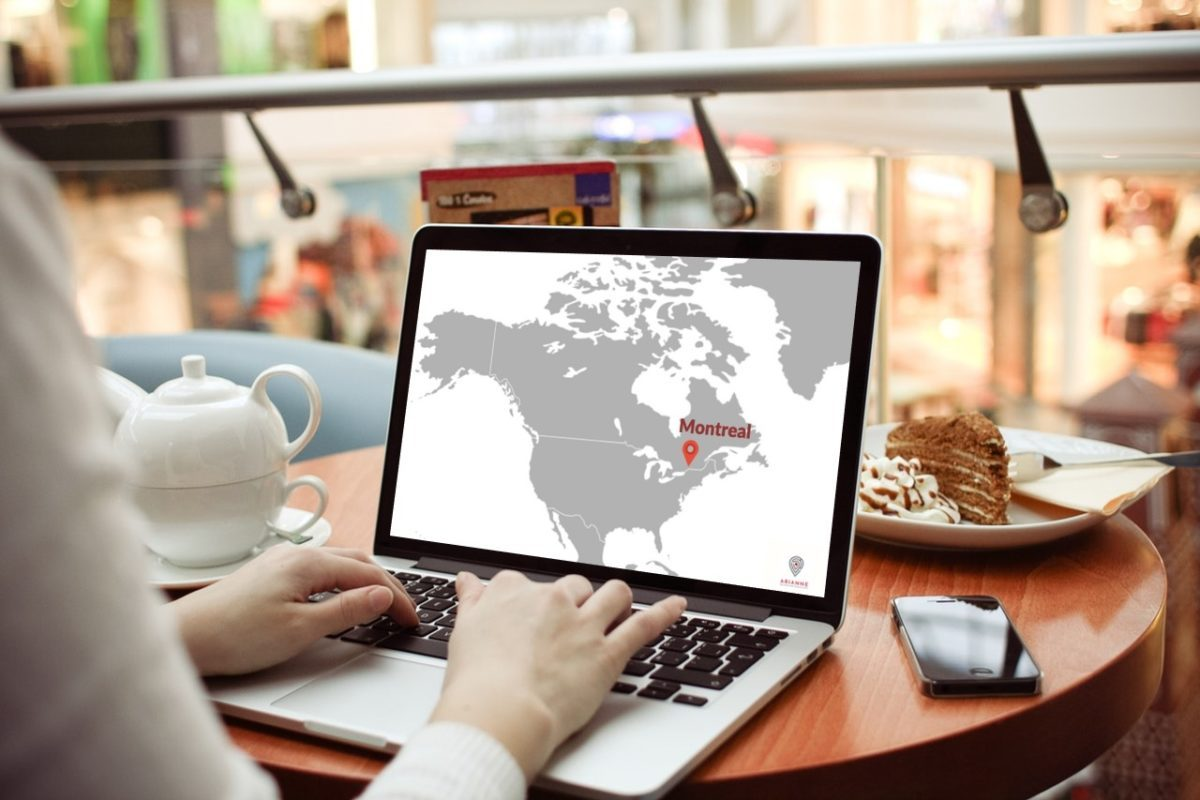 Map Online Montreal