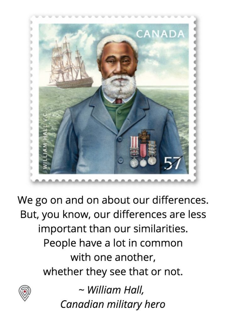 William Hall Canada quote