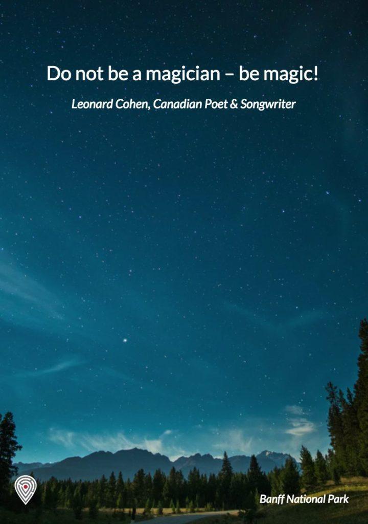 Leonard Cohen Canada quote