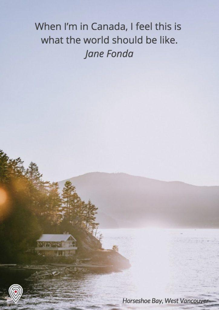 Jane Fonda Canada life quote