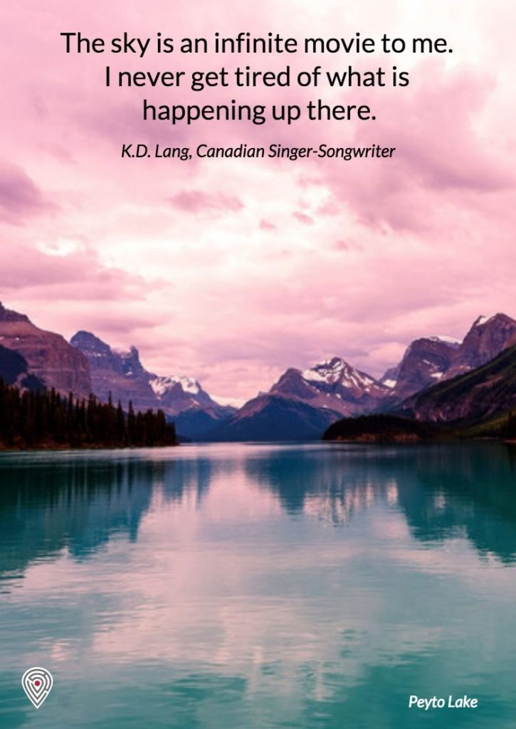 KD Lang Canada quote