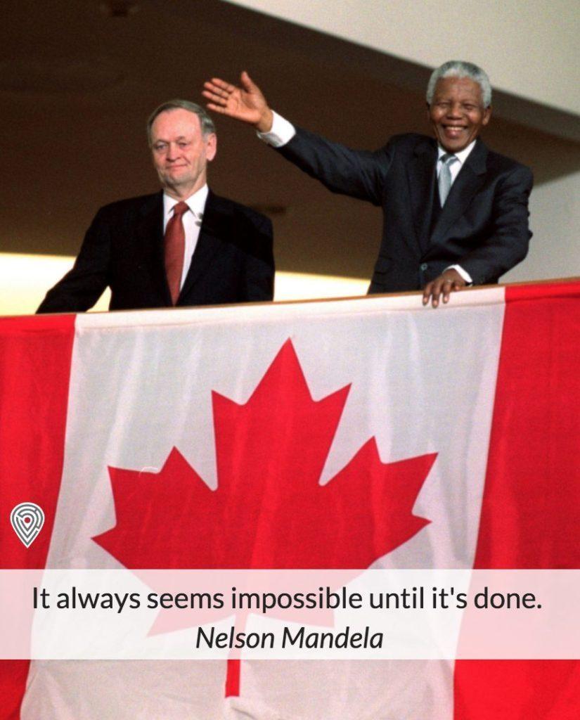 Nelson Mandela Canada quote