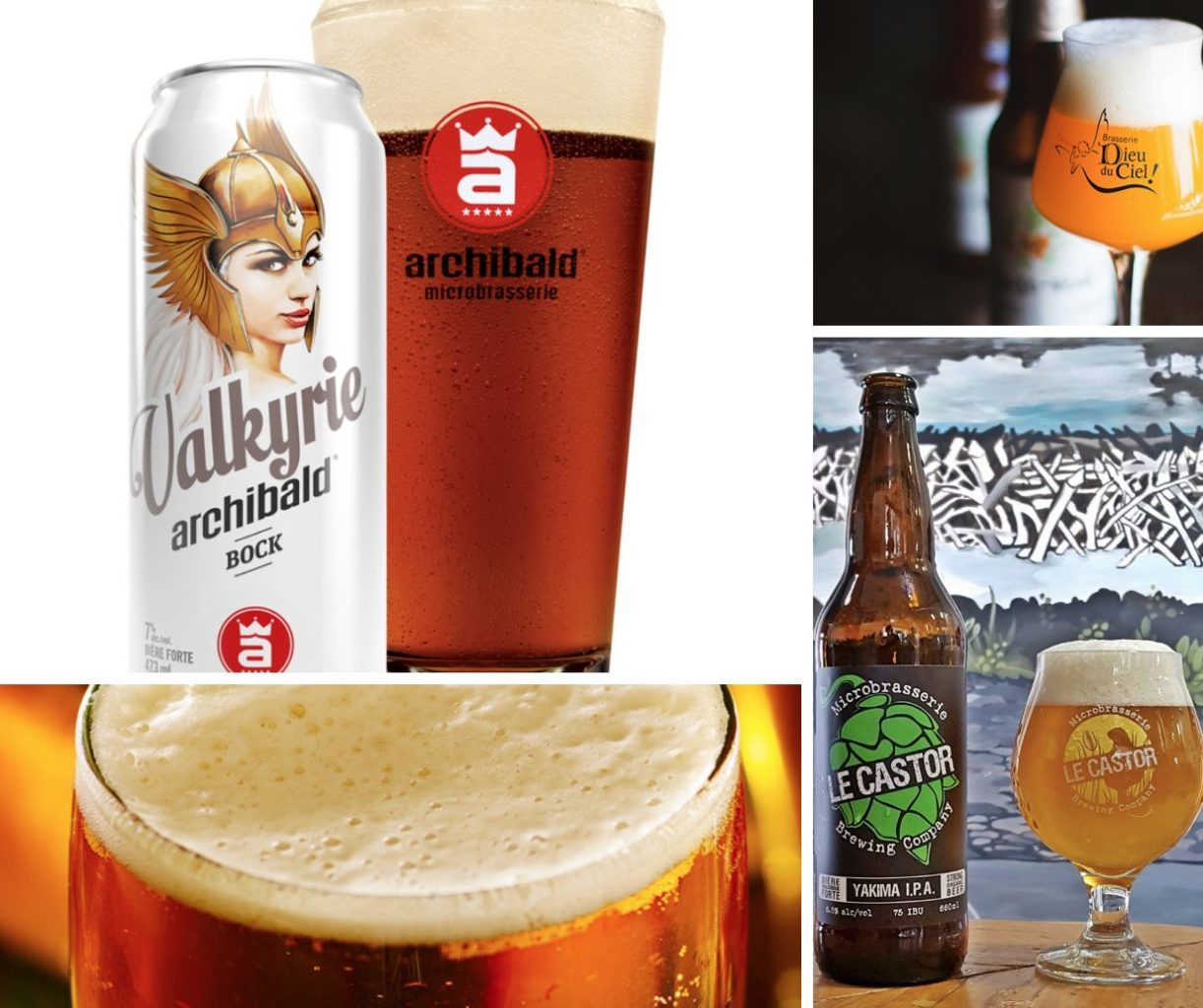 Best beers from Quebec Canada