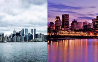 Cost of Living in Montreal vs Toronto