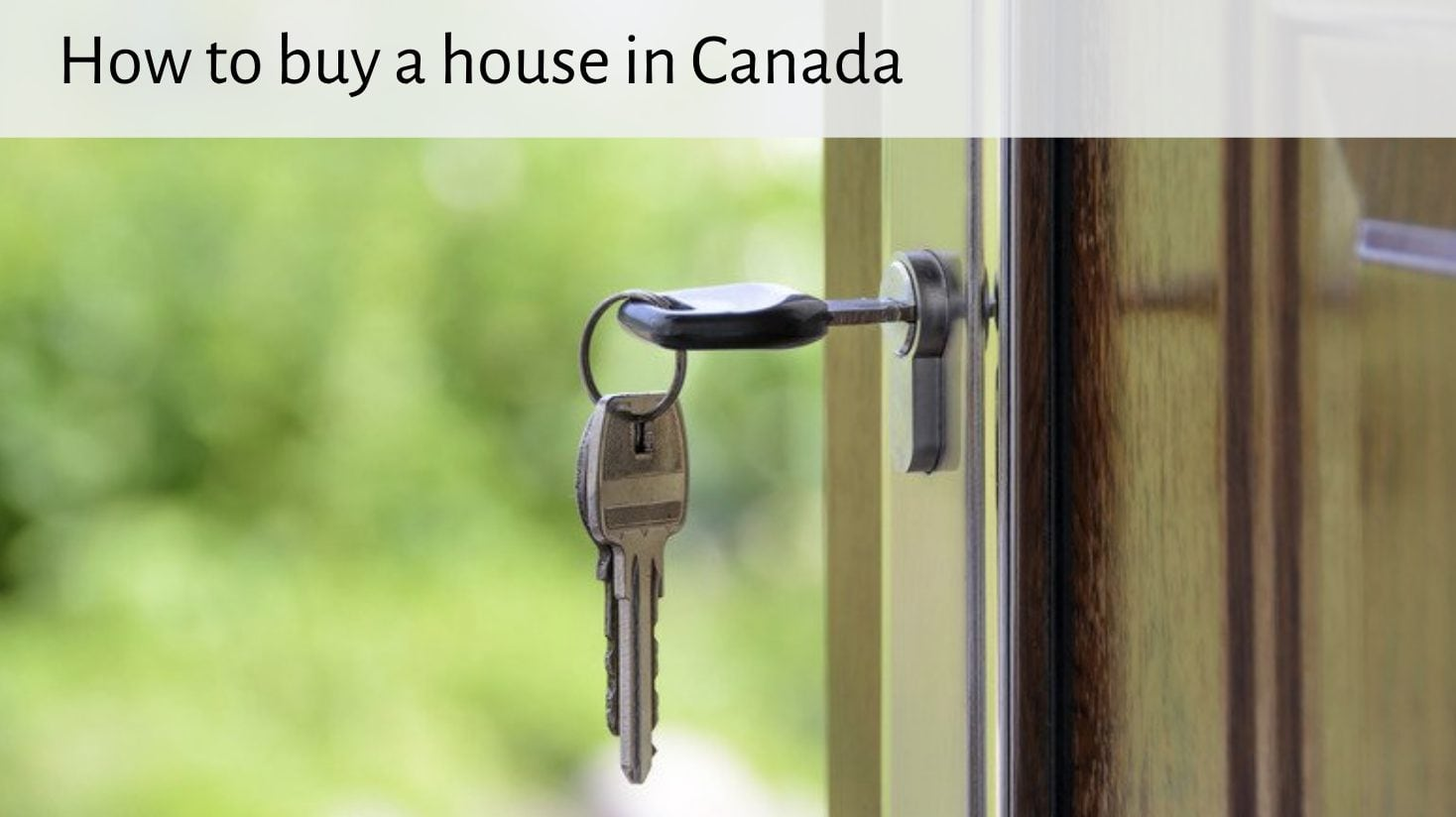 Hot topic buy a house in Canada