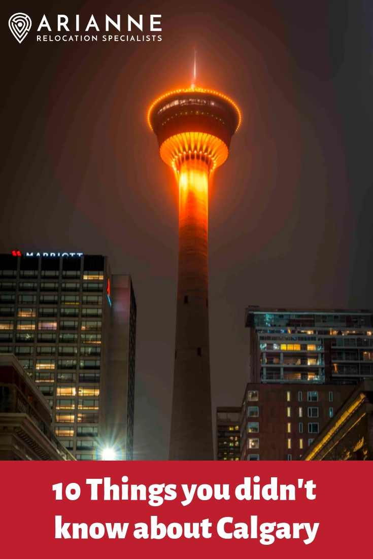 things about Calgary pin