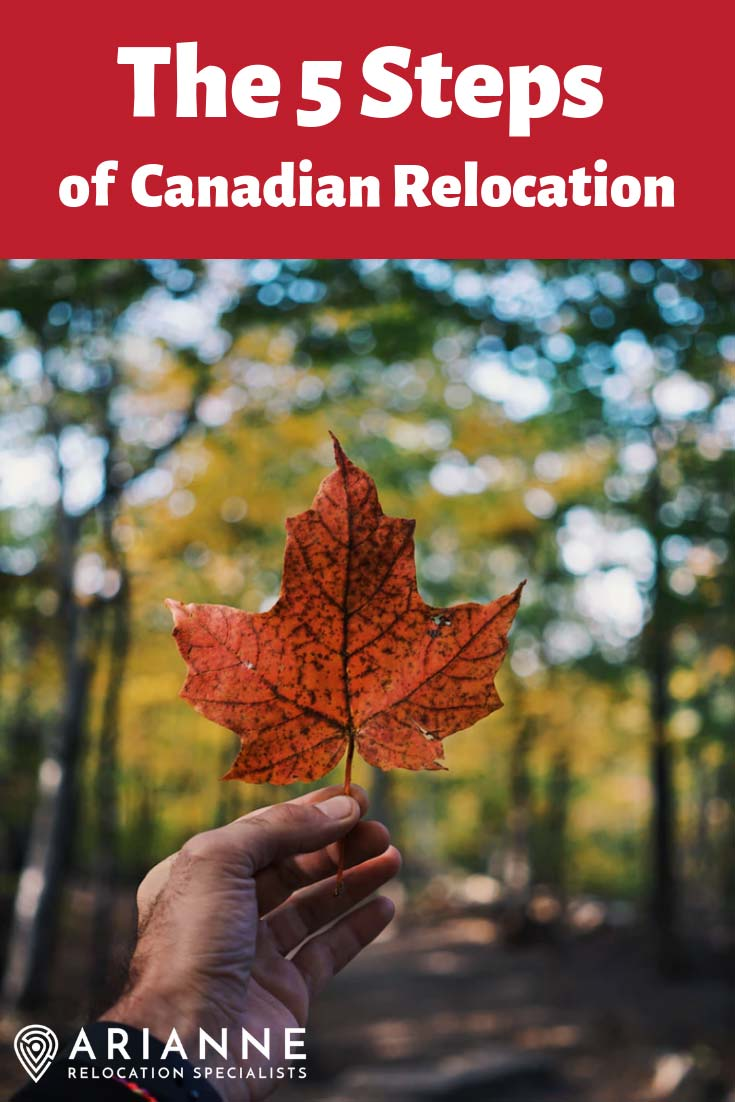 5 steps of Canadian relocation