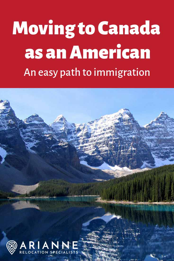 Moving to Canada as an American - pin