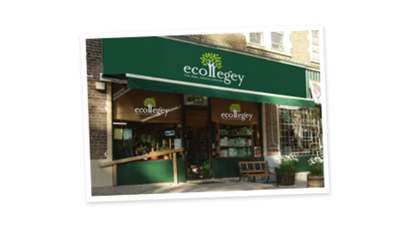 Green shops in Montreal ecollegey organic