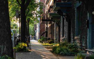 French English neighbourhoods of Montreal