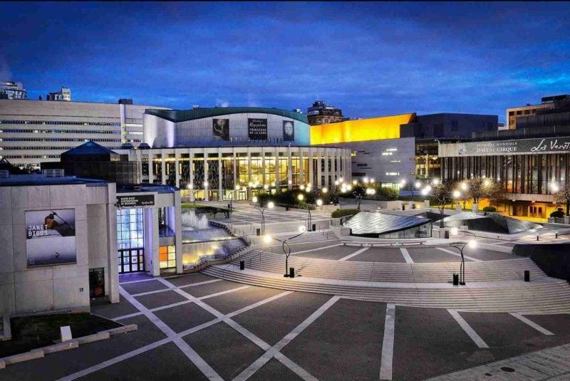 Place des Arts Quartier des spectacles